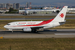 TIA spotterさんが、アタテュルク国際空港で撮影したアルジェリア航空 737-6D6の航空フォト(飛行機 写真・画像)