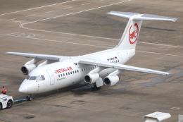 TIA spotterさんが、マカオ国際空港で撮影したロイヤル・エア・チャーター・サービシーズ Avro 146-RJ100の航空フォト(飛行機 写真・画像)