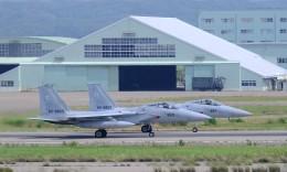 ゆたぽんさんが、小松空港で撮影した航空自衛隊 F-15J Eagleの航空フォト(飛行機 写真・画像)