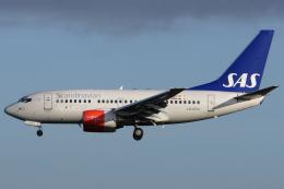 Hariboさんが、コペンハーゲン国際空港で撮影したスカンジナビア航空 737-683の航空フォト(飛行機 写真・画像)
