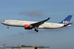 Hariboさんが、コペンハーゲン国際空港で撮影したスカンジナビア航空 A330-343Xの航空フォト(飛行機 写真・画像)