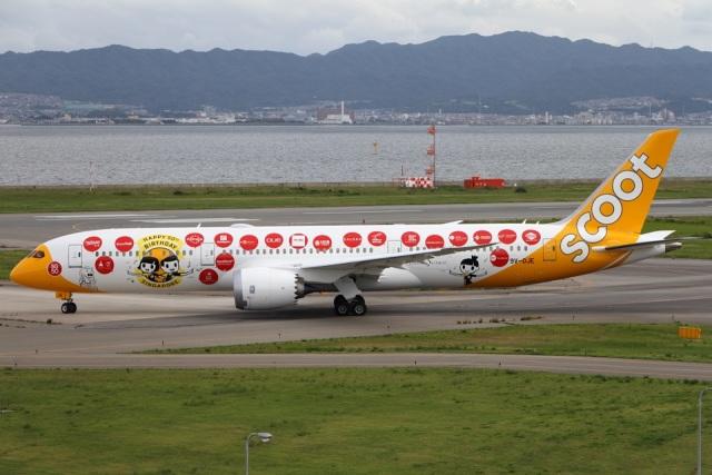 Hariboさんが、関西国際空港で撮影したスクート (〜2017) 787-9の航空フォト(飛行機 写真・画像)