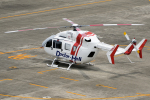 yabyanさんが、名古屋飛行場で撮影したセントラルヘリコプターサービス BK117C-2の航空フォト(飛行機 写真・画像)
