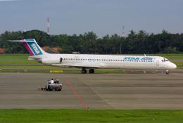Hariboさんが、スカルノハッタ国際空港で撮影したスターエア MD-83 (DC-9-83)の航空フォト(飛行機 写真・画像)