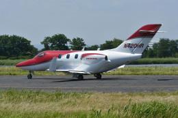 Gambardierさんが、岡南飛行場で撮影したアメリカ企業所有 HA-420 HondaJetの航空フォト(飛行機 写真・画像)