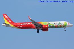 いおりさんが、成田国際空港で撮影したベトジェットエア A321-271Nの航空フォト(飛行機 写真・画像)