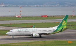 Rsaさんが、関西国際空港で撮影した春秋航空日本 737-86Nの航空フォト(飛行機 写真・画像)