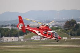 ゆうゆう@NGO さんが、名古屋飛行場で撮影した名古屋市消防航空隊 AS365N3 Dauphin 2の航空フォト(飛行機 写真・画像)
