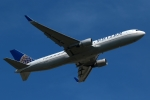 採れたてほしいもさんが、ロンドン・ヒースロー空港で撮影したユナイテッド航空 767-322/ERの航空フォト(飛行機 写真・画像)