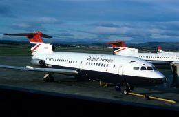 BOSTONさんが、グラスゴー国際空港で撮影したブリティッシュ・エアウェイズ Tridentの航空フォト(飛行機 写真・画像)