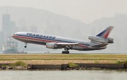BOSTONさんが、啓徳空港で撮影したトランスアエロ航空 DC-10-30の航空フォト(飛行機 写真・画像)