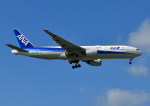 じーく。さんが、那覇空港で撮影した全日空 777-281/ERの航空フォト(飛行機 写真・画像)