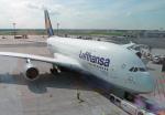 ちゃぽんさんが、フランクフルト国際空港で撮影したルフトハンザドイツ航空 A380-841の航空フォト(飛行機 写真・画像)