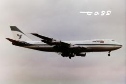航空フォト:EP-ICB イラン航空 747-200