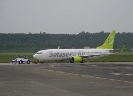 ぶるーすかいさんが、熊本空港で撮影したソラシド エア 737-86Nの航空フォト(飛行機 写真・画像)