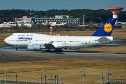 池さん@JA381Aさんが、成田国際空港で撮影したルフトハンザドイツ航空 747-430の航空フォト(飛行機 写真・画像)