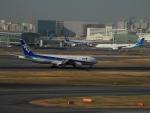 ぶるーすかいさんが、羽田空港で撮影した全日空 777-281の航空フォト(飛行機 写真・画像)