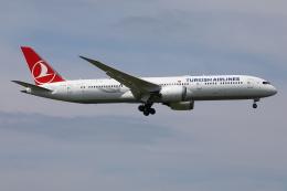 TIA spotterさんが、成田国際空港で撮影したターキッシュ・エアラインズ 787-9の航空フォト(飛行機 写真・画像)