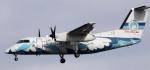 y.o 新城さんが、伊丹空港で撮影した天草エアライン DHC-8-103Q Dash 8の航空フォト(飛行機 写真・画像)