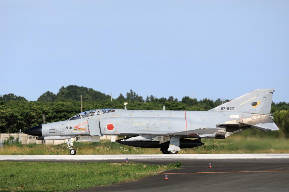 モモさんの航空自衛隊 Mitsubishi F-4EJ Kai Phantom II (87-8415) 航空フォト