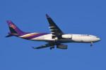 kuro2059さんが、中部国際空港で撮影したタイ国際航空 A330-343Xの航空フォト(飛行機 写真・画像)