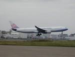 ぶるーすかいさんが、羽田空港で撮影したチャイナエアライン A330-302の航空フォト(飛行機 写真・画像)