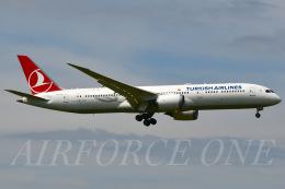 AIRFORCE ONEさんが、成田国際空港で撮影したターキッシュ・エアラインズ 787-9の航空フォト(飛行機 写真・画像)