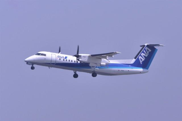 kumagorouさんが、羽田空港で撮影したエアーニッポンネットワーク DHC-8-314Q Dash 8の航空フォト(飛行機 写真・画像)