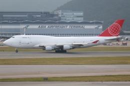 TIA spotterさんが、香港国際空港で撮影したエア・カーゴ・グローバル 747-433M(BDSF)の航空フォト(飛行機 写真・画像)