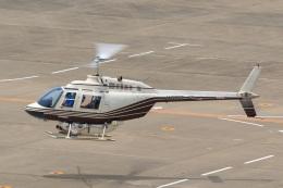 ドリさんが、福島空港で撮影したヘリサービス 206B-3 JetRanger IIIの航空フォト(飛行機 写真・画像)