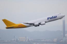TIA spotterさんが、香港国際空港で撮影したポーラーエアカーゴ 747-87UF/SCDの航空フォト(飛行機 写真・画像)