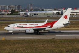 TIA spotterさんが、アタテュルク国際空港で撮影したアルジェリア航空 737-7D6Cの航空フォト(飛行機 写真・画像)