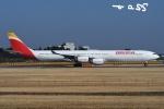 tassさんが、成田国際空港で撮影したイベリア航空 A340-642Xの航空フォト(飛行機 写真・画像)