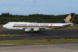 TIA spotterさんが、成田国際空港で撮影したシンガポール航空カーゴ 747-412(BCF)の航空フォト(飛行機 写真・画像)