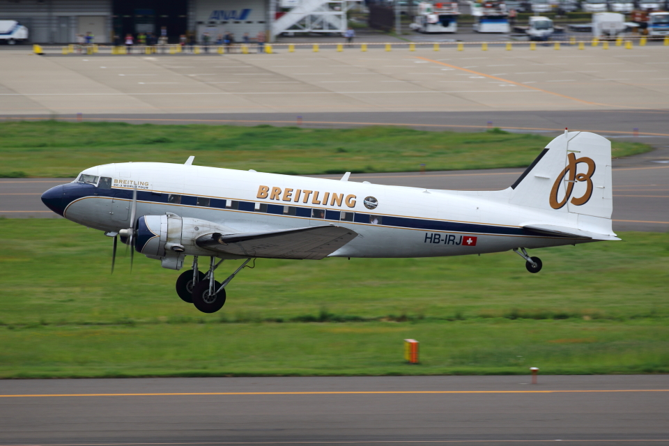 TIA spotterさんのスーパーコンステレーション飛行協会 Douglas DC-3 (HB-IRJ) 航空フォト