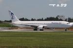 tassさんが、成田国際空港で撮影したビジネスエアー 767-383/ERの航空フォト(飛行機 写真・画像)