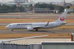 kahluamilkさんが、伊丹空港で撮影したJALエクスプレス 737-846の航空フォト(飛行機 写真・画像)