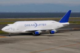 きんめいさんが、中部国際空港で撮影したボーイング 747-409(LCF) Dreamlifterの航空フォト(飛行機 写真・画像)
