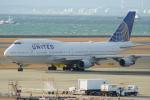 Shimejiさんが、中部国際空港で撮影したユナイテッド航空 747-422の航空フォト(飛行機 写真・画像)