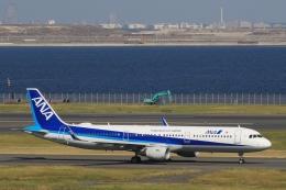 Hiro-hiroさんが、羽田空港で撮影した全日空 A321-211の航空フォト(飛行機 写真・画像)