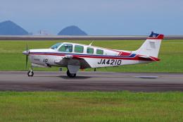 apphgさんが、静岡空港で撮影したエス・ジー・シー佐賀航空 A36 Bonanza 36の航空フォト(飛行機 写真・画像)
