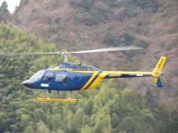 チダ.ニックさんが、静岡ヘリポートで撮影したジャネット 206B JetRanger IIIの航空フォト(飛行機 写真・画像)