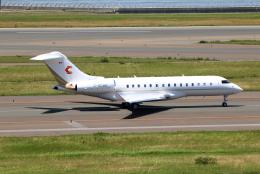 なごやんさんが、中部国際空港で撮影したチャートライト・エア BD-700-1A10 Global 6000の航空フォト(飛行機 写真・画像)