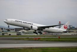 MOHICANさんが、福岡空港で撮影した日本航空 777-346/ERの航空フォト(飛行機 写真・画像)
