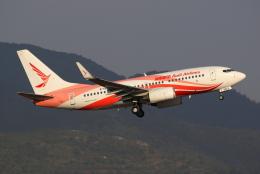 TIA spotterさんが、昆明長水国際空港で撮影した瑞麗航空 737-76Jの航空フォト(飛行機 写真・画像)