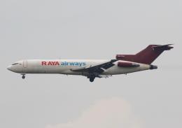 TIA spotterさんが、シンガポール・チャンギ国際空港で撮影したラヤ・エアウェイズ 727-247/Adv(F)の航空フォト(飛行機 写真・画像)