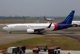 TIA spotterさんが、スカルノハッタ国際空港で撮影したスリウィジャヤ航空 737-8K5の航空フォト(飛行機 写真・画像)