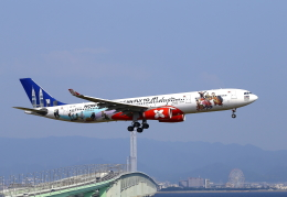 kix-booby2さんが、関西国際空港で撮影したエアアジア・エックス A330-343Xの航空フォト(飛行機 写真・画像)