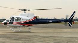 cathay451さんが、伊丹空港で撮影したユーロヘリ AS350B3 Ecureuilの航空フォト(飛行機 写真・画像)