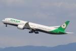 キイロイトリさんが、関西国際空港で撮影したエバー航空 787-10の航空フォト(飛行機 写真・画像)